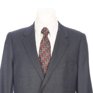 Joseph Abboud Nailhead Wool Silk Sport Coat Blazer